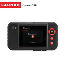 LAUNCH OBD 2 auto diagnostic scanner Creader VII+ OBD2 car code reader tool supports 4 system of ENG ABS AT SRS for 30 brands(China)