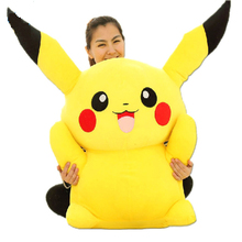 Hot Sellig 47'' / 120cm Huge Super Cute Giant Plush Pikachu, Good Present for Kids,Free Shipping(China)