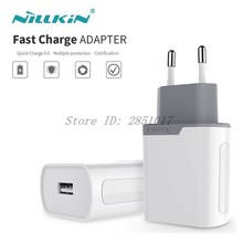 Original Nillkin Quick Charge 3.0 Adapter For Samsung Xiaomi Huawei QC 3.0 USB Fast Charger Plug Charging for iPhone Oneplus