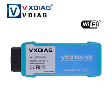 2016 Hot selling VXDIAG VCX NANO for TOYOTA TIS Techstream V10.10.018 Compatible with SAE J2534 WIFI Version(China)