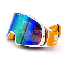 NEW Fashion Style Motorcycle Goggles Glasses Motocross googles Bike Cross Country Flexible Goggles Tinted UV