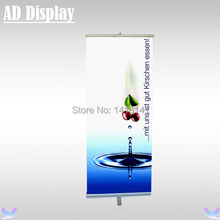 85*200cm 6PCS High Quality Aluminum One Foot Retractable Roll Up Display,Exhibition Pull Up Banner,Trade Show Promotional Stand(China)