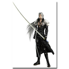 Final Fantasy Art Silk Fabric Poster Print 13x20 24x36 inch Hot Game Picture for Living Room Wall Decoration 004