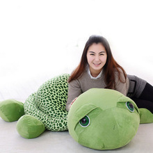 2017 150CM Super Big Eyes Turtle Toy Story Me To You Teddy Doll Plush Toys 1PCS Cute Baby Stuffed Animals(China)