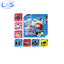10 Styles Anime Paper Jigsaw Puzzles Toys Kids Baby Games Toy Princess Educational Puzzles For Children Cartoon Learning Toys