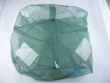 36*25CM Large Folded Eel Cage Fish Pot Mesh Folding Fishing Trap Cast Cage Shrimp Crab Eel Net Fishing Cage