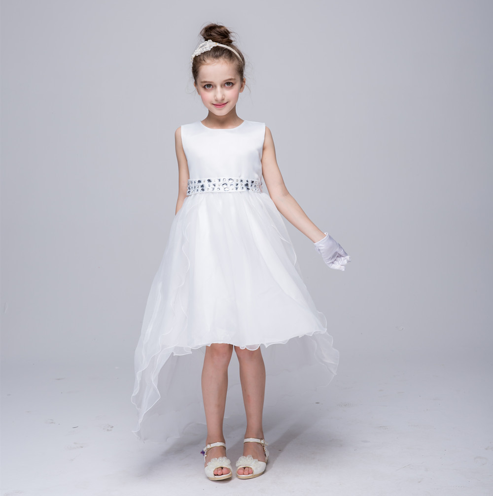 Dress Princess Solid Gril Tail Dress Snow Queen Halloween Party Vestidos Cosplay Costume Girl Dress Summer Girls Clothes<br><br>Aliexpress