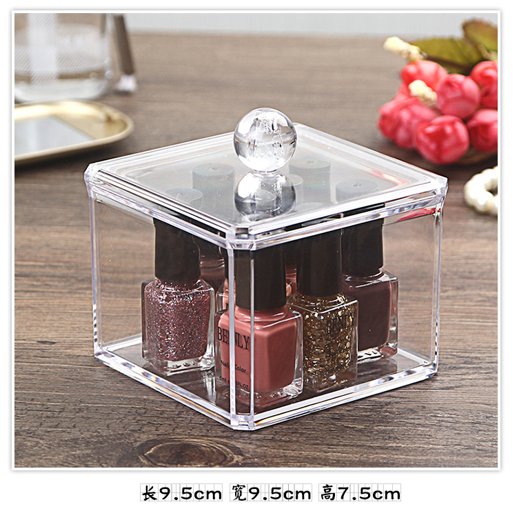 Organizador Hot Sale 2017 Acrylic Makeup Organizer Rangement Maquillage Crystal of Cosmetics Included In The of Home Storage (22)