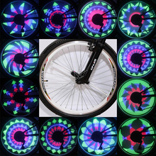 Led Light for Bike Spokes RGB Waterproof Bicycle Wheel Light Cool Color Changing Bike Tire Lamp Bike Bicycle Light