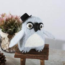 Handmade Craft Ornament Resin Cute Style Wool Felt Crafts furnishings Decorations Handicrafts Home Decoration accessories A35