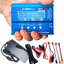 SKYRC Original IMAX B6 Mini Digital Balance Charger For RC Helicopter Car Toys Quadcopter Lipo NiMH Battery with Power Supply(China)