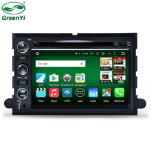 GreenYi 2 Din Octa Core Android 6.0 Car DVD GPS For Ford Explorer Fusion Expedition F150 F250 F500 Edge Mustang Tablet PC Radio(China)