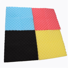 Acoustic Soundproof Sound Stop Absorption Pyramid Studio Foam Sponge 4 Color Hot Sale(China)