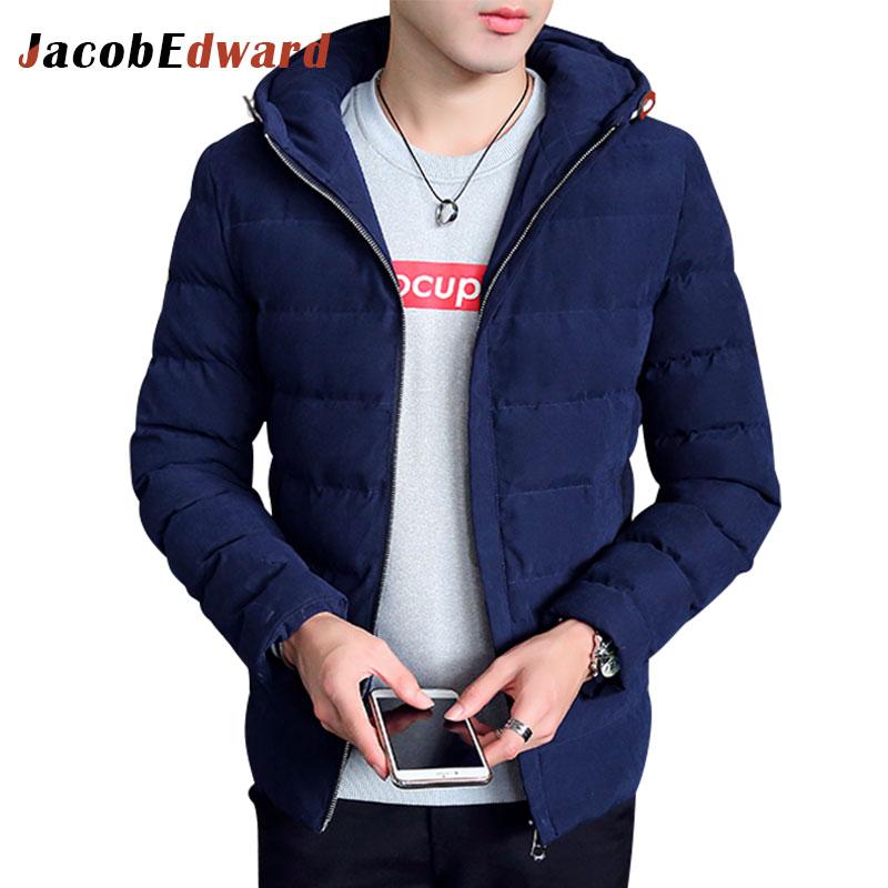 2017 Winter Jacket Men Casual Parka Coat Outerwear Fashion Warm Men Parka Hooded Jackets Polyester Down Coats Plus Size M-3XLОдежда и ак�е��уары<br><br><br>Aliexpress