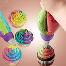 3 Size Pastry Adaptor Cream Cake cooking tools 3 Color Russia Nozzles Icing Piping Tip Coupler purple Round Converter