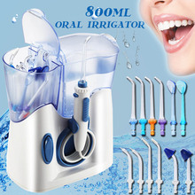 High Quality 800ml Oral Irrigator Electric Teeth Cleaning Machine Irrigador Dental Water Jet Care Flosser Family Teeth Cleaner
