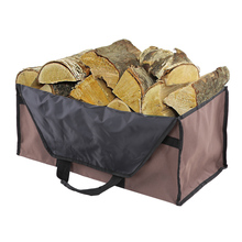 Large Capacity Oxford Cloth Logs Carrier Fire Wood Holders Firewood Storage Package Carrier Bag Holders Carrying 2 Handles Bag(China)