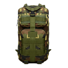 New Outdoor Army Backpack Rucksacks Camping Hiking Trekking Bag 30L Jungle Camo