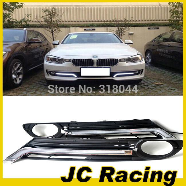100% brand new  car daytime running light, Front Lamp light For BMW (Fit For BMW New 3 Series 2014 )<br><br>Aliexpress