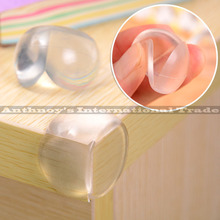 10Pcs/lote Child Baby Safety Glass Table Corner Guards Kid Corner Protector Security Products For Children free shipping