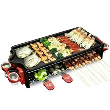 YST Fu Wanxiang Korean grill indoor household oven smoke-free non stick baking sheets on electric barbecue machine FREE SHIPPING