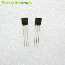 100PCS/LOT in-line 2N2222A triode transistor NPN switching transistors TO-92 0.6A 30V NPN 2N2222(China)