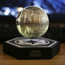 2017 Star Wars STARWARS death star maglev bluetooth wireless stereo rotating 360 degree Maglev Bluetooth speakers(China)