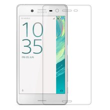 Tempered Glass Case For Sony Xperia X XA X Performance X Compact Mini XR XZ XC Screen Protector 2.5D Rounded Edge Pro 9H