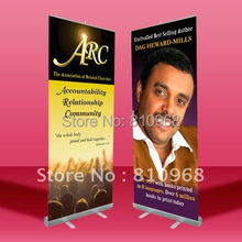 200X80cm Pull up banner Roll up display Custom printing banner 3pcs with free shipping(China)
