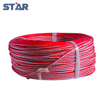 100m LED Strip Lights Extension Wire, 2 pin Red White cable, PVC insulated wire, 22 AWG wire , Electric cable, DIY Connect Cord