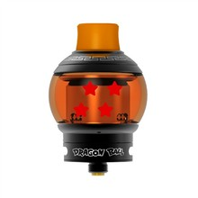 Original Fumytech Dragon/Crystal Ball RDTA 5.0ml Top Filling System Ajustable Juice Hole Tank for Electronic Cigarette Box Mod