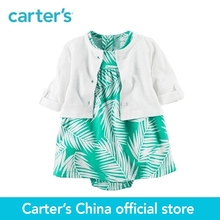 Carter's 2pcs baby children kids 2-Piece Bodysuit Dress & Cardigan Set 121H354,sold by Carter's China official store(China)