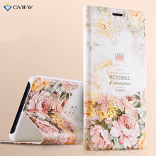 Xiaomi Mi Note 2 Case Gview Luxury PU Leather 3D Relief Flip Cover Case For Xiaomi Mi Note 2 Stand Moblie Phone Bag Caque Capa