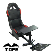 Foldable Evolution Cockpit Simulator Play game racing Seat With Support of Steering Wheel+Pedal+Shift Knob Holder
