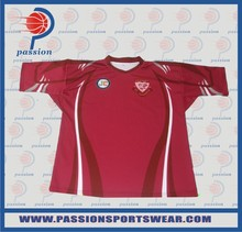 Wholsale sports rugby uniforms OEM service cheap rugby jerseys