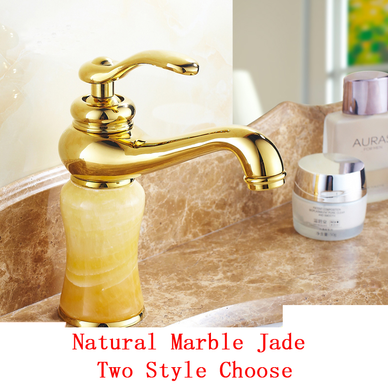 Buy bathroom faucet antique yellow and get free shipping on ...