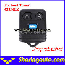 Special Offer 3 Button Transit Remote Fob With Blue Button for Ford 433MHZ Wholesale 5pcs/lot