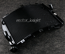 Aluminium Alloy Cooler Motorcycle Radiator For Kawasaki 98-02 Ninja ZX6R 1998-2002 Black