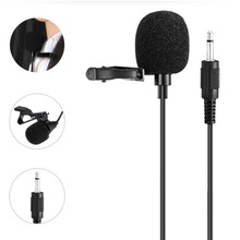 Mini Portable Collar Clip Microphone Lavalier Microphone Speaker 3.5mm Audio Compatible with Voice Amplifiers & Loudspeakers(China)
