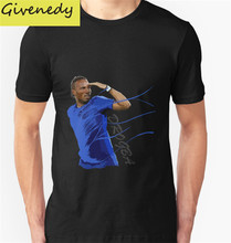 2016 new style mens T shirt The King of Chelsea - Didier Drogba - Legend summer short sleeve Tee shirt fashion cotton t shirts