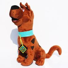 Free shipping High Quality Soft Plush Cute Scooby Doo Dog Dolls Stuffed Toy New 13.7inch Retail