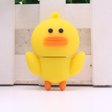Cartoon Duck Brown Bear Nicole Rabbit USB Flash Drive 8GB 16GB 32GB USB2.0 Flash Memory Stick Pen Drive Disk for Laptop Computer