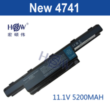 HSW 5200mAH Battery for Acer Aspire 4741G 7741 4741 AS10D31 AS10D41 AS10D51 AS10D61 AS10D71 AS10D73 AS10D75 5252 5253 5333 5551