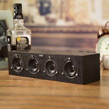 SADA V-191 MP3 PC Notebook Computer Speaker Wooden Body Mini USB Power Subwoofer Speakers