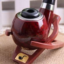 Good Quality Stylish Portable Plastic Enchase Tobacco Smoking pipes Stand Men's Foldable Cigar Pipe Stands