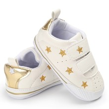 2017 brand baby shoes infant newborn PU Leather shoes Baby Boy Girl Baby Fringe Soft Soled Non-slip Footwear Crib Shoes 0-18M(China)