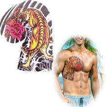 Wholesale waterproof tattoo stickers male totem simulation arm posted a large diagram tiger tattoo fake tattoos MQC19