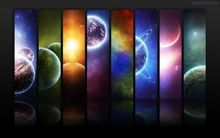 Solar System - The Sun Planets Moons Comets Meteors 50*70cm Poster