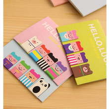 A48 3 Set Birthday Gift Kawaii Magnetic Bookmarks Books Marker of Page Marcador de Livro Stationery Paperclip Office Supplies