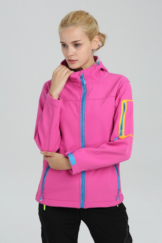 Winter Warm Softshell Fleece Skiing Jacket Plus Size Womens Autumn Winter Sport Suit Female Windbreaker Keep Warm Down Jackets<br>